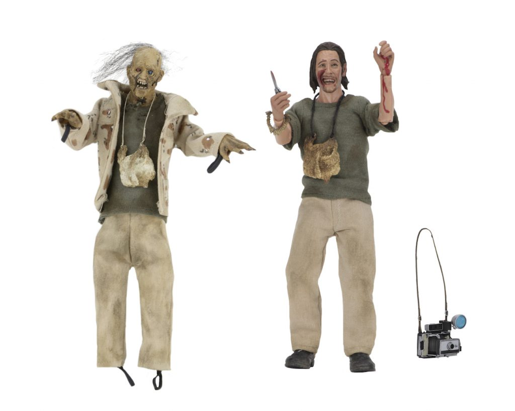 "NECA Texas Chainsaw Massacre 8"" Clothed Action Figure - Nubbins Sawyer Collector's Se"