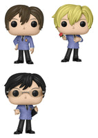 Funko Animation Pop! - Ouran High School S1 Set of 3 - Pre-Order