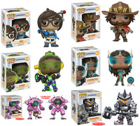 Set of 6 Funko Games Pop! Overwatch Wave 2 - Reinhardt #178<br>Pre-Order