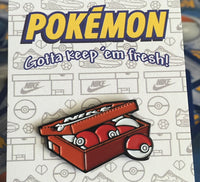 Pokemon Shoebox Pin