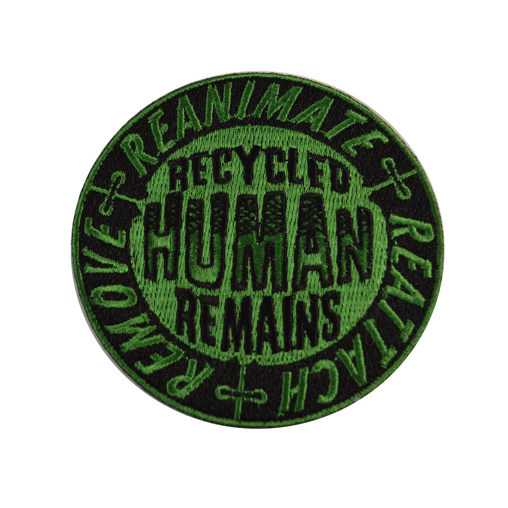 Recycled Human Remains Patch