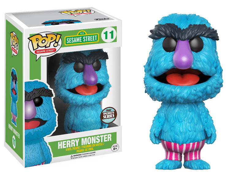 Funko Sesame Street Pop! - Herry Monster #11 Specialty Series