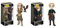 Set of 2 Funko Game of Thrones Rock Candy - Daenerys Targaryen  and Brienne of Tarth