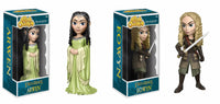 Set of 2 Funko Movies Rock Candy - Lord of the Rings - Eowyn & Arwen<br>