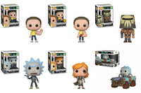 Funko Television Pop!: Set of 5 Rick and Morty and Mad Max Rick Ride