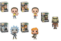 Funko Television Pop!: Set of 5 Rick and Morty Pop! - Pre-Order