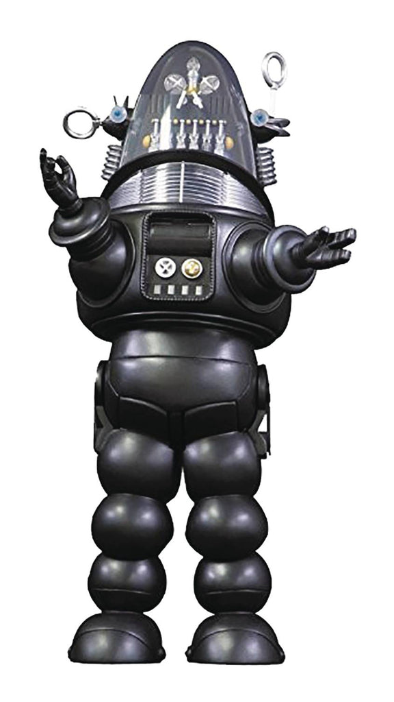 Forbidden Planet Robby the Robot Silver Die Cast Previews Exclusive Figure