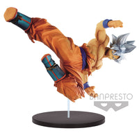 Dragonball Super: Son Goku FES V8 Ultra Instinct Figure