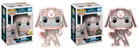 Set of 2 Funko Movies Pop! - Tron - Sark Glow in the Dark & Chase - Pre-order