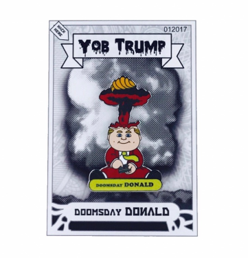 Doomsday Donald: With a Little Help from My Comrades Edition Pin