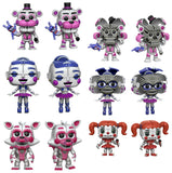 Set of 6 Funko Games Pop! - Sister Location - 4 Regular and 2  Chase