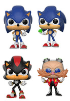 Set of 4 Funko Games Pop! - Sonic the Hedgehog
