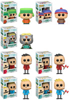 Funko Television Pop!  South Park - Set of 7 including 2 chases