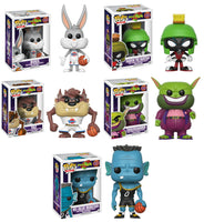 Set of 5 Funko Movies Pop! Space Jam - Taz, Bugs, Marvin, M3, Swackhammer <br>Pre-Order