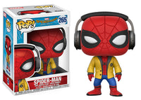 Funko Movies Pop! Spider-Man Homecoming Spiderman w/ Headphones Pre-Order
