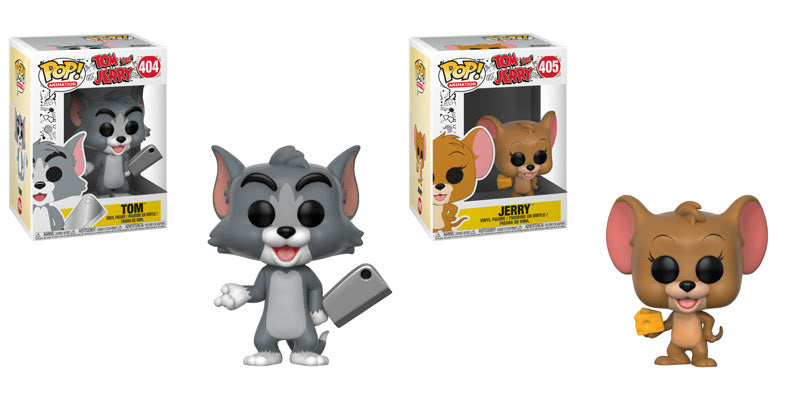 Funko Animation Pop - Tom and Jerry - Set of 2 Tom & Jerry (Pre-Order)