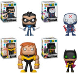 Set of 4 Funko Television Pop! - Teen Titans Go! - Pre-Order