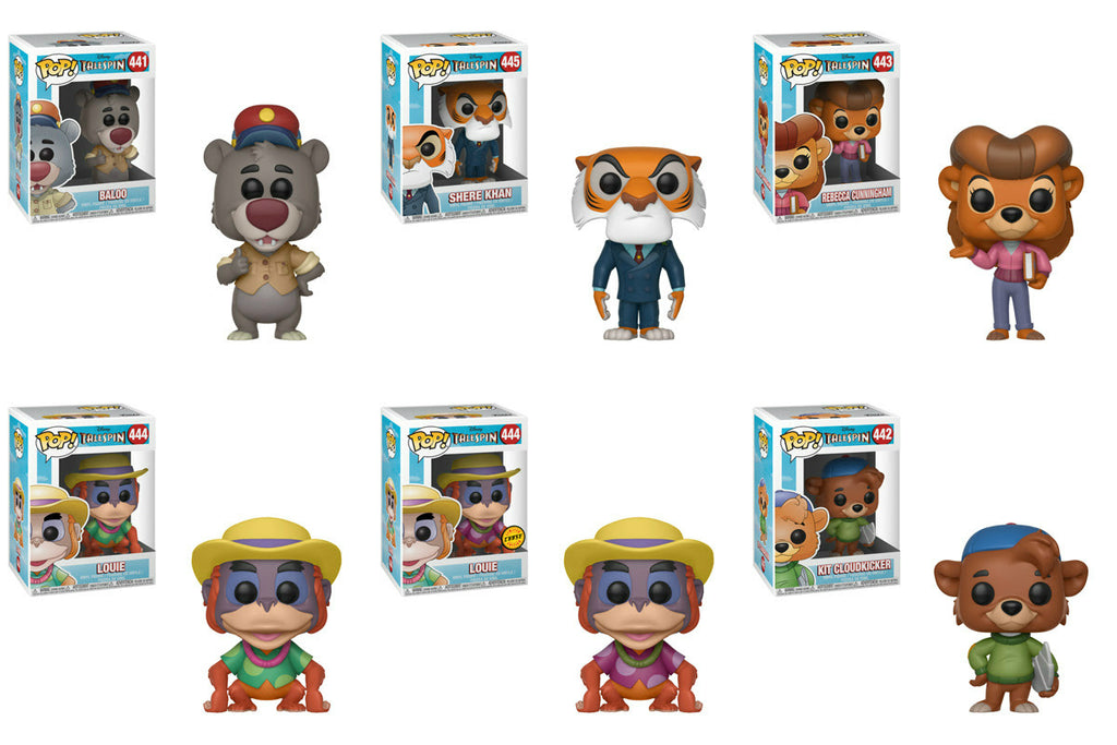 Funko Disney Pop - Tailspin Set of 6 w/ Chase - Pre-Order