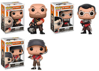 Funko Games Pop! - Team Fortress 2: Set of 3 - Pre-order
