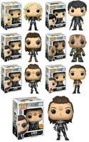 Set of 7 Funko Television Pop! The 100 - Clarke, Bellamy, Octavia, Lincoln, Lexa, Lexa Chase, Raven