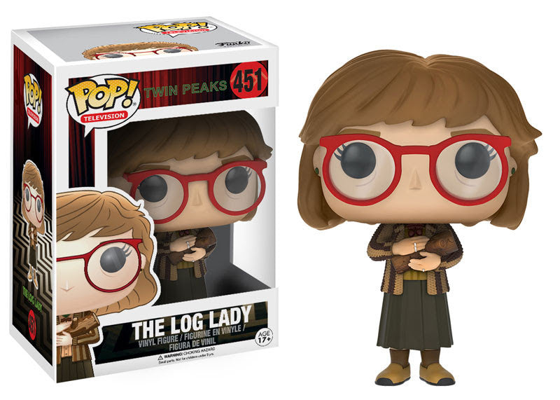 Funko Television Pop! Twin Peaks - The Log Lady #451