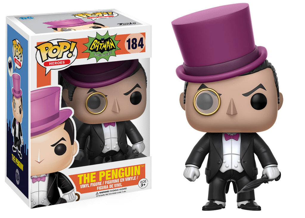 Funko DC Heroes Pop! Batman 1966 - The Penguin #184