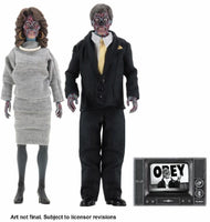 NECA 8 Inch Clothed Action Figure: They Live - Alien 2 Pack