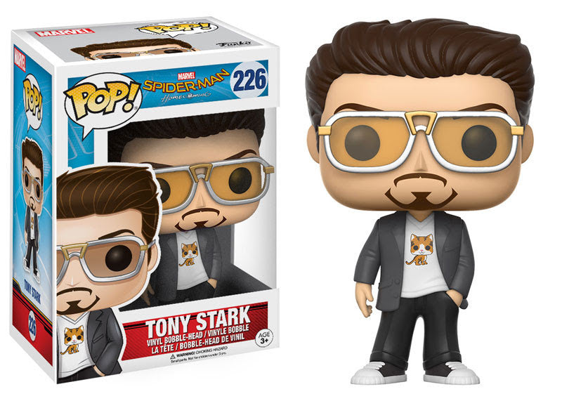 Funko Marvel Pop! Spider-Man Homecoming - Tony Stark #226