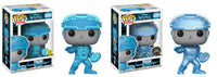 Set of 2 Funko Movies Pop! - Tron - Tron Glow in the Dark & Chase