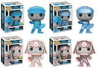 Set of 4 Funko Movies Pop! - Tron - Tron & Sark - Pre-order