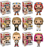 Set of 6 Funko WWE Pop! - 4 Regular Releases and 2 Chases <br>Pre-Order