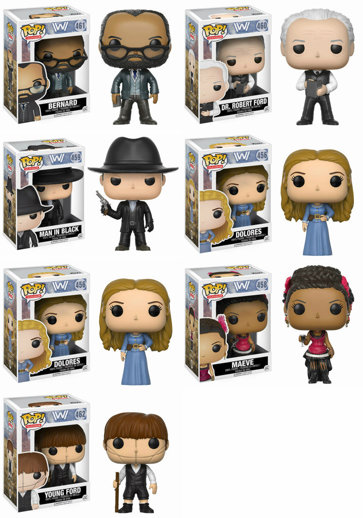 Set of 7 Funko Movies Pop! - Westworld - Young Ford #462
