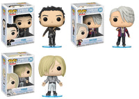 Set of 3 Funko Animation Pop - Yuri!!! On Ice - Turi, Victor, & Yurio (Skate Wear)