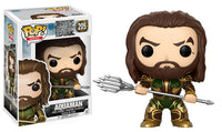 Funko Movies Pop! - Justice League Movie Aquaman #205<br>Pre-Order