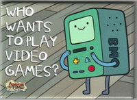 Magnet: Adventure Time - BMO Who Wants to Play Video Games