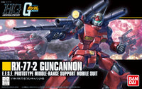 Bandai - Mobile Suit Gundam - #190 RX-77-2 Guncannon (Revive) - HGUC 1/144 Model