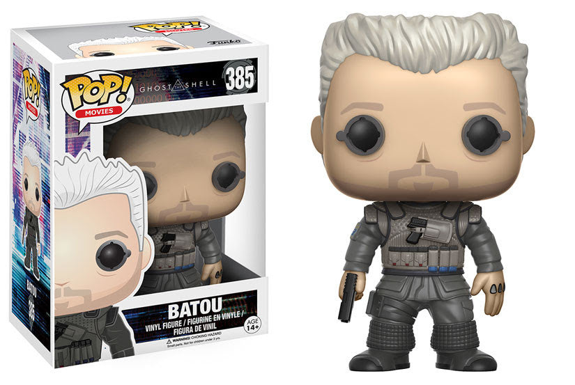 Funko Movies Pop! Ghost in the Shell - Batou #385 - Videguy Collectibles