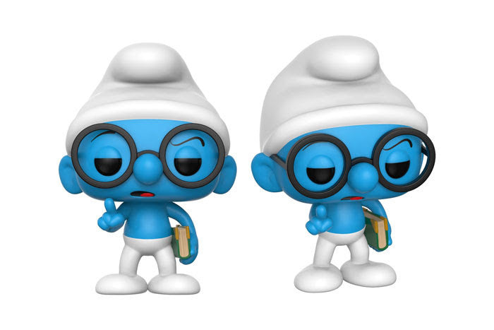 Funko Animation Pop!s - Smurfs - Brainy Smurf Pre-Order