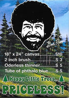 Magnet: Bob Ross - Happy Little Trees