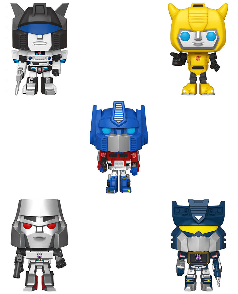 Set of 5 Transformers Pops
