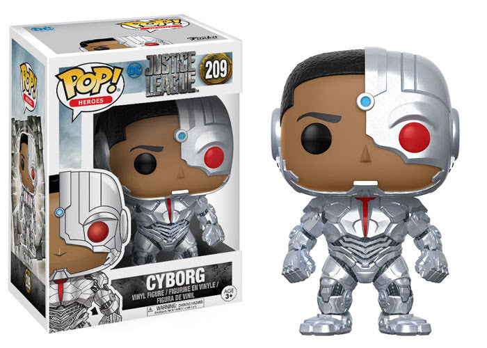 Funko Movies Pop! - Justice League Movie Cyborg #209