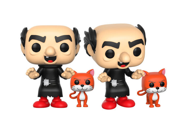 Funko Animation Pop!s - Smurfs - Gargamel and Azrael Pre-Order
