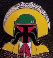 Tapa Fett Pin (Glow in the Dark)
