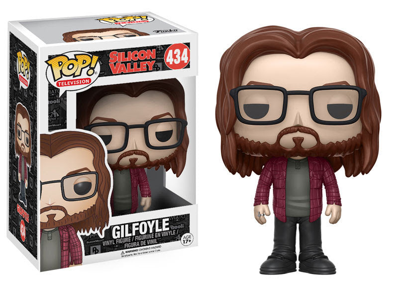 Funko Television Pop! Silicon Valley - Gilfoyle #434 - Videguy Collectibles