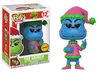 Funko Books Pop! - Dr Suess The Grinch - Santa Grinch Chase