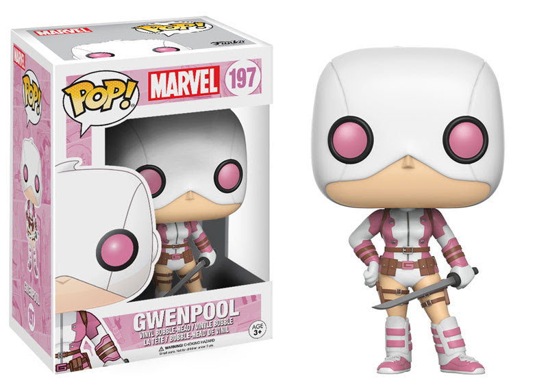 Funko Pop! Marvel - GwenPool Masked #197 - Videguy Collectibles
