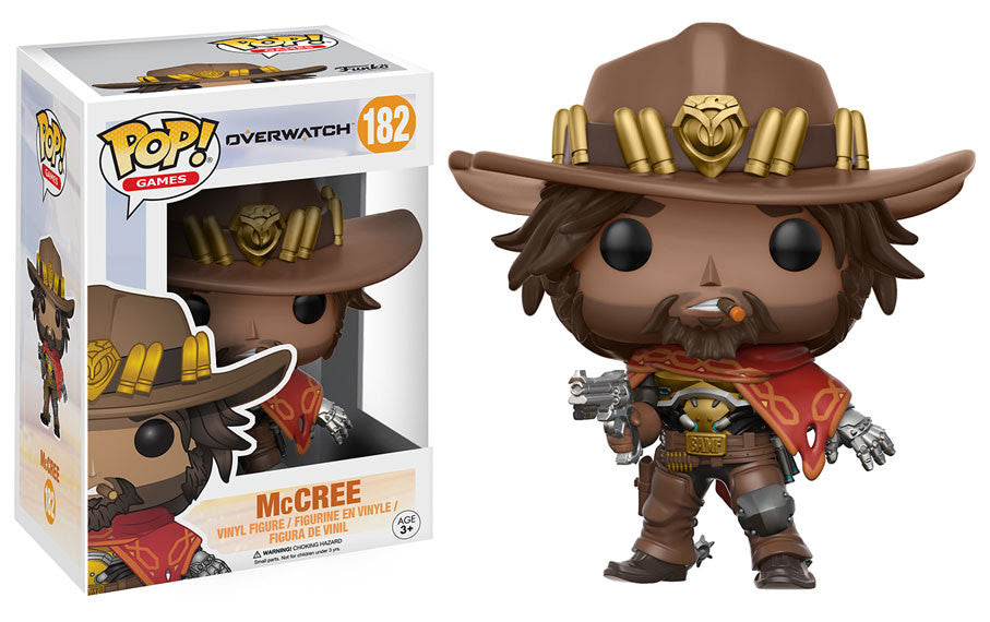 Funko Games Pop! Overwatch Wave 2 - McCree #182<br>Pre-Order