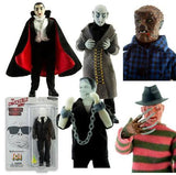 Mego 8 Inch Action Figure: Set of 6 Horror Action Figures