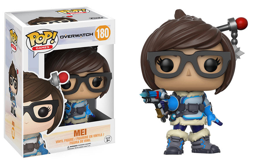 Funko Games Pop! Overwatch Wave 2 - Mei #180