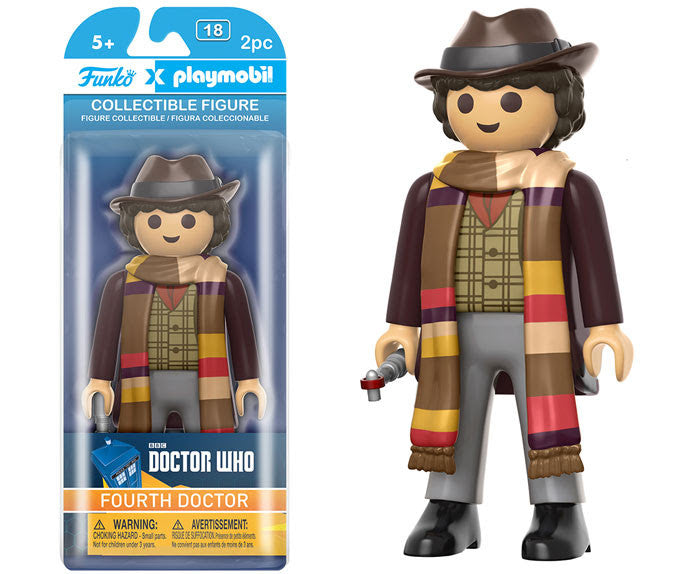 Funko Playmobil Figure - Doctor Who - 4th Doctor - Videguy Collectibles